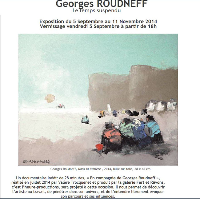 exposition roudneff � Yvoire 2014